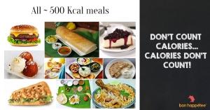 500 Calories meals