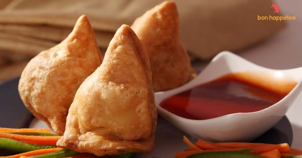 Samosa home cooked