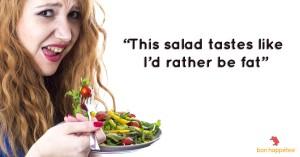 This salad tastes