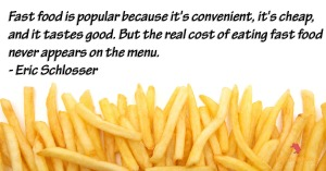 fastfood real cost
