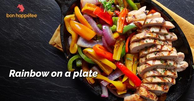 rainbow-plate-fajita